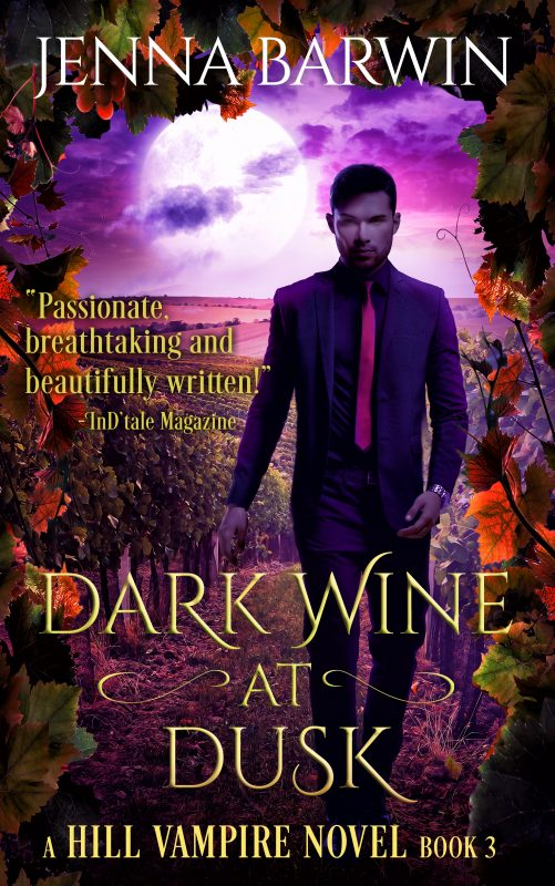 DARK WINE AT DUSK
