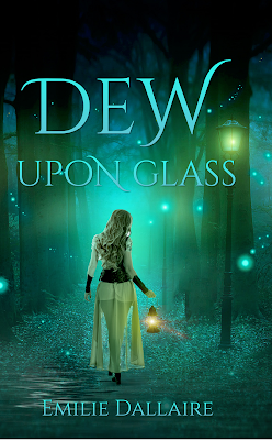 DEW UPON GLASS