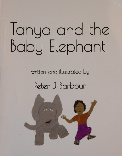 TANYA AND THE BABY ELEPHANT